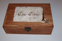 Boxes of tea bags