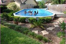 camuffare piscina fuori terra