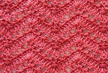 Needlework - knitting stitches / by Janet Shamburg