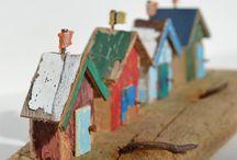 Little Houses DIY -  huisjes DIY