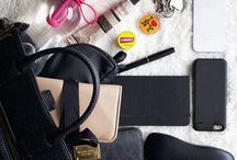 What's in my bag? / Some of the essentials I carry around every day. More at www.facebook.com/VeshionLife or www/veshionlife.com