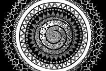 Mandalas and Zentangle...