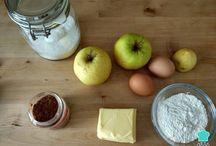 Tarta manzana sin horno
