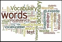 Vocabulary / by Jenifer Stewart