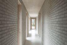 baksteen interieur