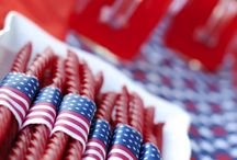 INDEPENDENCE DAY / Born on the 4th of July. Independence Day party ideas and tips. Stars and Stripes party decor and food ideas. Americana, parades, fireworks, bar-b-q's - what's not to love about the Fourth of July.