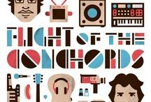 Flight of the Conchords / by Elle Reid