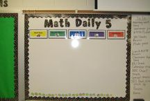 classroom - daily five math / by Kathy Carroll
