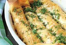 clătite umplute cu carne de pui și ciuperci