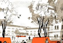 drawing styles architecture urbanism