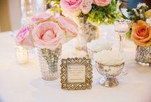 bushel & a pickle wedding reception floral inspiration