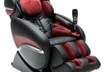 Królewskie masowanie / Fotel do masażu to nie tylko coś dla ciała - to również coś dla ducha i oka ;-)