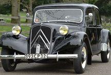 Citroen Traction Avant & classic Mini &  Vw Beetle