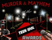 Murder & Mayhem at the Teen Idol Awards - Teen Murder Mystery Party / Get your glam gear ready for an exciting night at the Teen Idol Awards! A super fun teen murder mystery party for 8-16+ celebrities, 12 years and up. There is a 7 character expansion pack available. The story is set at the Teen Idol Awards and VIP After Party in the lovely city of Anonville. Host this party if you are up for loads of glamour, deceit, intertwining story lines and murder - all packaged in a fun celebrity murder mystery party!