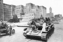 SU-85 medium self-propelled gun / Średnie działo samobieżne SU-85