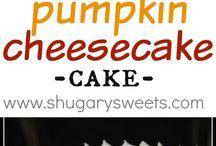 2-layered Pumpkin Cheesecake