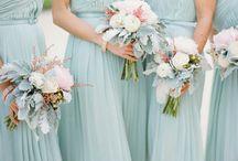 Mint wedding flowers