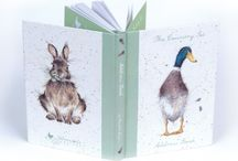 Wrendale Designs Stationery / A gorgeous range of Wrendale Designs products covered in beautifully depicted, quirky designs based on original artwork by Hannah Dale including the popular hare, duck and owl designs. http://www.a-choice-of-gifts.co.uk/giftshop/cat_909327-Wrendale-Designs.html