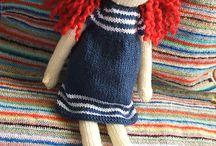 Knitted doll/toy / Bambole e pupazzi a ferri