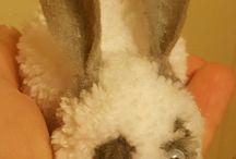 pom pom rabbit