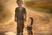 Lapsi ja eläin
