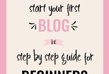 BLOGGING FOR BEGINNERS / Blogging ideas, blogging cheat sheets, blog writing, step by step blogging, Wordpress, blogging for beginners.