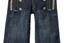 Girl: Jeans, leggings, Pants