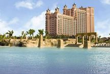Atlantis, Paradise Island, The Bahamas / Atlantis, Paradise Island, The Bahamas — a family vacation mecca — is a unique, ocean-themed destination featuring a variety of accommodations, all built around a 141-acre waterscape.