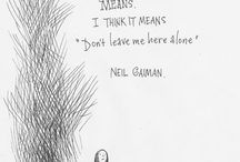 Neil Gaiman Book Research and Writing Quotes