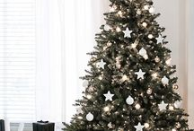 CHRISTMAS / decorations, tree, winter