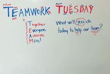 Whiteboard in class