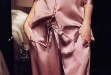 Silk pajamas