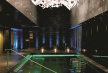 ESPA at the g Hotel Galway / Cocoon yourself away from the outside world at the ESPA Thermal Suite at the g. Situated on the upper two floors of the hotel ESPA at the g comprises of eight treatment rooms, four beauty suites, vitality pool, crystal steam room, lifestyle shower, rain shower, rock sauna, an ice fountain, heated loungers and a relaxation room overlooking the rooftop Zen garden. It is the ultimate in comfort and luxury.