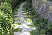 Garden Walkways and Steps