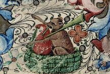 Wildlife in old manuscripts