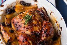 Pollo al mostaza y miel