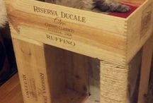 Wine Crate Ideas for Lara
