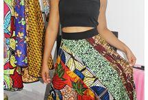Saia Africana - Rafa Que Faz - DeOlinda / Saias feitas com tecido africano <3 www.facebook.com/rafaquefaz