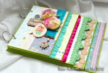 DIY Mini/Scrap books / Ideas for DIY Scrapbooks of various sizes and with various materials.  Also Ideas for different techniques to use in my mini albums. / by Theresa Mittan