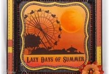Summer / A selection of great craft projects utilizing Prickley Pear Stamps various stamps and dies.