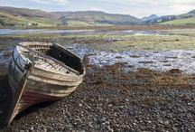 """Iles Hébrides extérieures #Ecosse / Explorez, le long de l'Atlantique, les superbes îles des Hébrides, surnommées les """"Maldives d'Europe du Nord"""", puis l'île de Skye. Vous découvrez ensuite les paysages calmes d'Argyll et somptueux du Parc National des Trossachs avant de plonger au cœur de villes culturelles et historiques telles Stirling, Glasgow et Édimbourg... Un séjour qui se veut exaltant et varié !"""