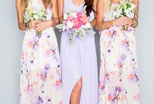 Summer bridesmaids
