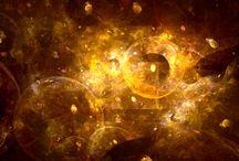 Univers * / Tout petits dans l'univers (même les grands), lui même tout petit dans...    ELE, auteur de L'Indélicatesse du Cosmos (roman), http://eric-lequien-esposti.com / by Eric Lequien Esposti