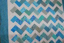 chevron and zigzag / easy pattern