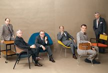 Portraits: Mid Century Designers