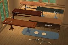 Sims 2- Maxis Add-ons- Surfaces