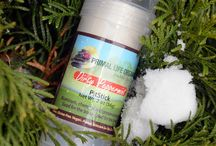 Toxic-Free Natural Deodorant / Aluminum and toxin free, 100% natural deodorant made from earthen ingredients that are safe enough to eat!