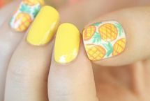 Yellow nails / by Jill