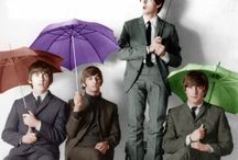 John, Paul, George and Ringo / by THE OLD HIPPIE GAL