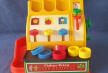 Vintage Fisher Price, Playskool & Mattel Toys / Toys from my children's youth